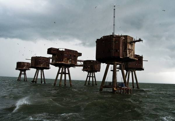 The Maunsell Sea Forts, Anh