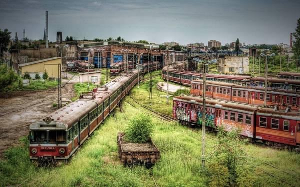 Kho tàu hỏa Częstochowa, Ba Lan