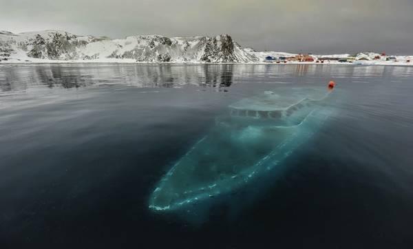 Du thuyền bị đắm, Nam Cực