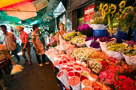 Chợ hoa Pak Khlong Talat
