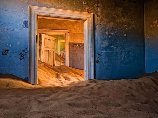 Kolmanskop, sa mạc Namib, Namibia