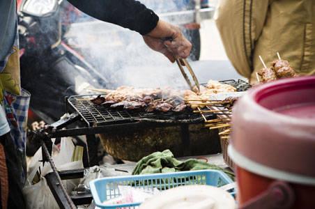 Chợ ẩm thực Wang Lang