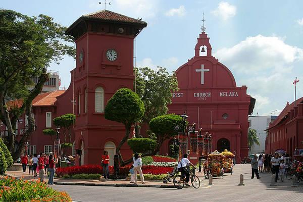 Đô thị cổ xinh đẹp Malacca của Malaysia