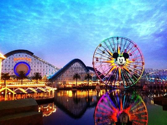 Disneyland ở California, Mỹ