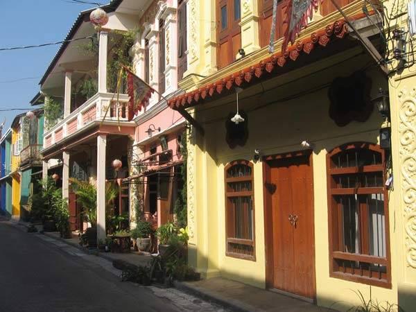 phố cổ ở Phuket