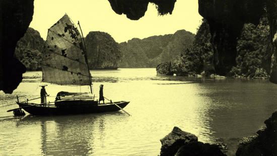 Hình ảnh Vịnh Hạ Long 100 năm trước