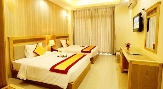 Nội thất phòng khách sạn Sapphire Nha Trang