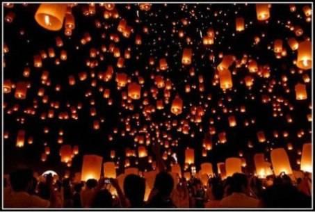 lễ hội loikrathong