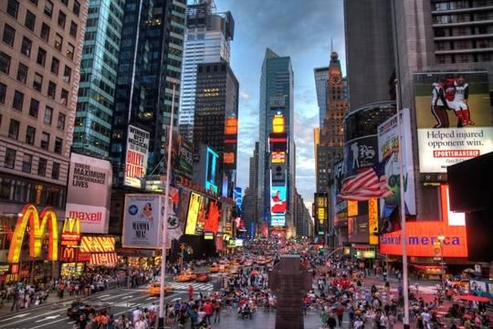 Quảng trường Times Square ở New York, Mỹ
