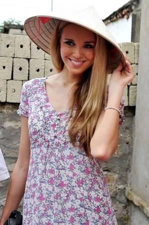 Hoa hậu thế giới 2008 Ksenia Sukhinova.