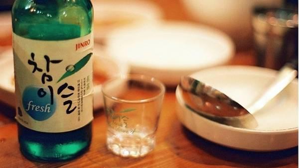 Rượu Soju của Hàn Quốc
