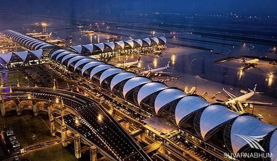 Sân bay quốc tế Suvarnabhumi ở Bangkok, Thái Lan