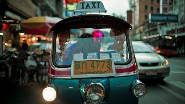 Xe tuk tuk ở Thái Lan