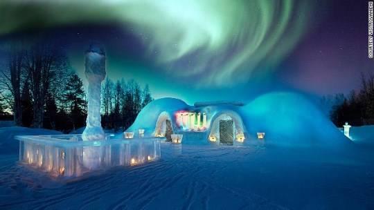 Bắc Cực quang, Scandinavia
