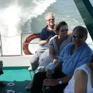 Tàu BlueCruiser đưa du khách nước ngoài đi từ Châu Đốc (An Giang) sang Phnom Penh - Ảnh: Tri Anh