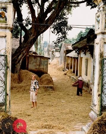 Tài tử đến thăm làng Ước Lễ ở Thanh Oai, Hà Nội vào mùa gặt đầu tháng 10. Charlie đi dạo trên con đường làng phủ đầy rơm rạ.