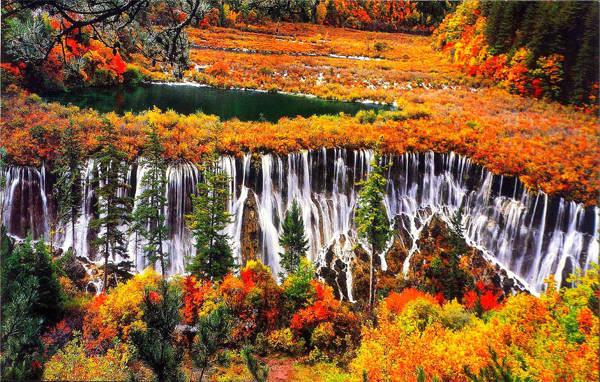 Đến Cửu Trại Châu mùa thu