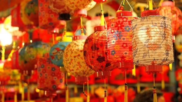 Đường lồng đèn Phú Mỹ Hưng Trung thu 2013
