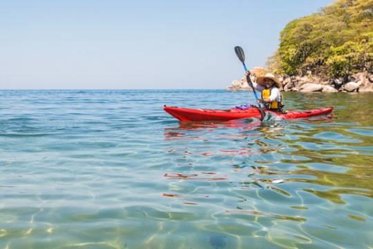 Chèo thuyền kayak ở Malawi
