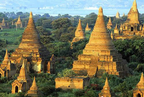 Myanmar, xứ sở của chùa chiền.