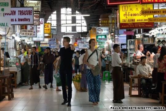 Chơ ở Yangon