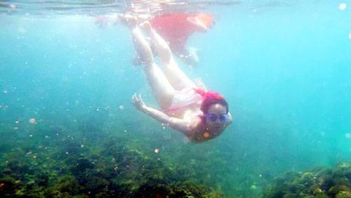 Lặn ở đảo Bình Ba