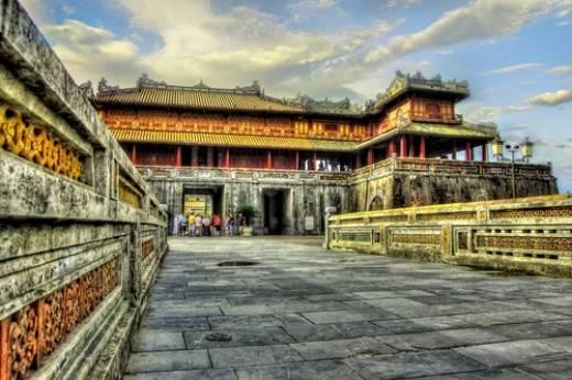Description: Du lịch Huế-Hoàng thành Huế