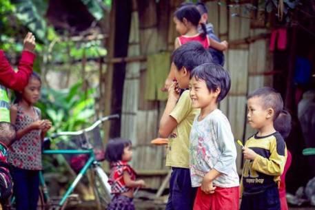 Những đứa trẻ đáng yêu ở Hà Giang
