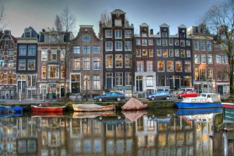 thành phố Amsterdam.