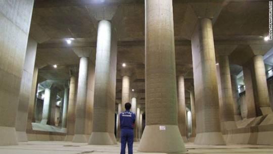 Hệ thống đường hầm chống lũ G-Can, Tokyo, Nhật Bản