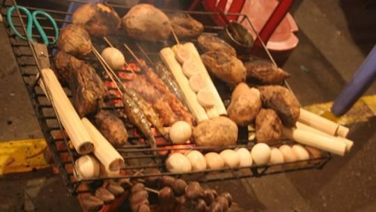 Hương vị đồ nướng Sapa