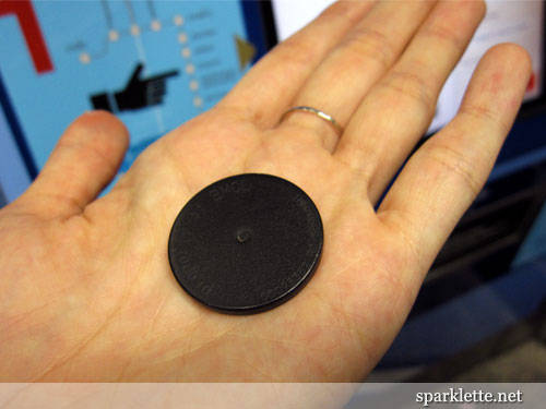 Vé MRT dạng đồng xu bằng nhựa