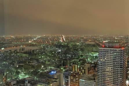 Sapporo lộng lẫy về đêm