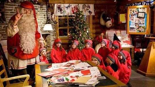 Đến thăm ngôi làng ông già Noel
