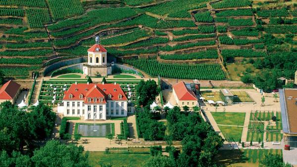 Cung điện Wackerbarth - Ảnh: Hoàng Yến Anh