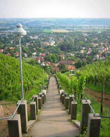 Vượt qua 300 bậc thang này sẽ được ngắm khung cảnh tuyệt vời - Ảnh H.Y.A