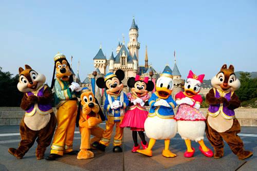 Đến Hong Kong đừng bỏ qua Disney Land