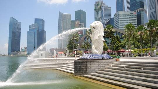 The-Singapore-Merlion