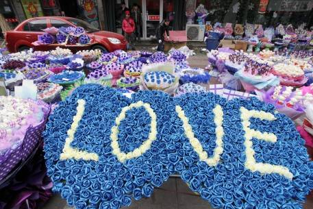 Chinese Celebrate Valentine's Day