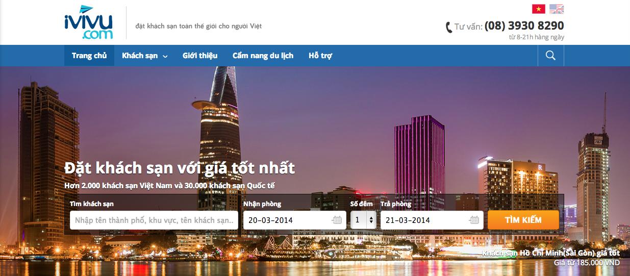 iVIVU.com - Hệ thống đặt khách sạn tại Việt Nam và quốc tế tốt nhất cho người Việt Nam.