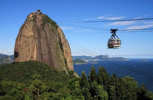 Cảnh tượng hùng vĩ tại thành phố Rio de Janeiro