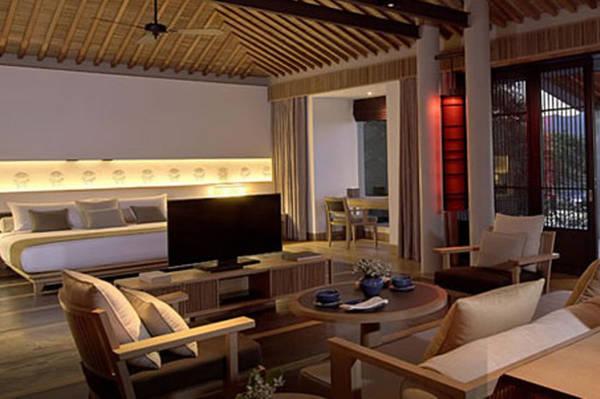 Một căn phòng trong khách sạn Amanoi