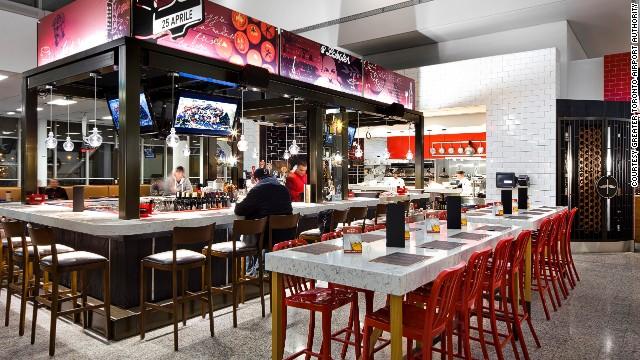 Nhà hàng Bocconne Trattoria, sân bay Toronto Pearson, Canada