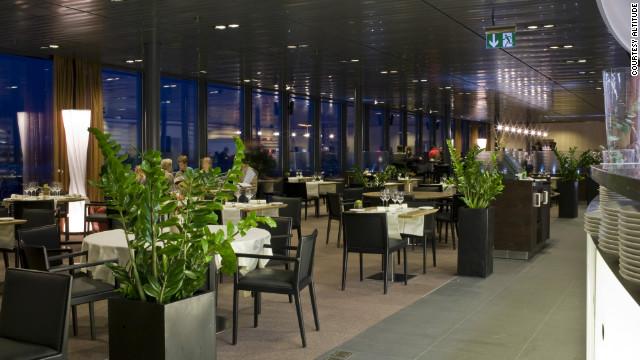 Nhà hàng Altitude, sân bay quốc tế Geneva, Thụy Sĩ