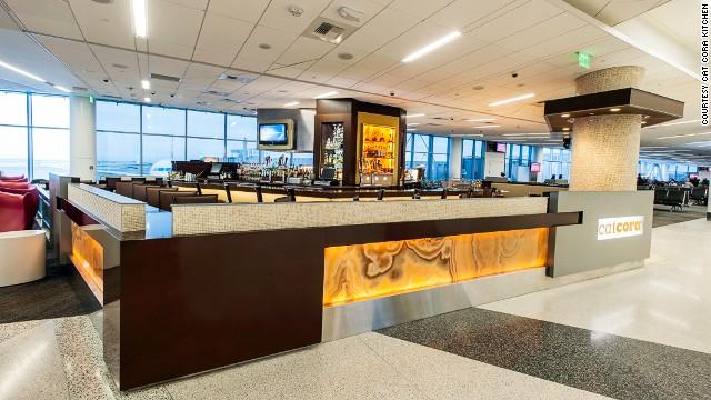 Nhà hàng Cat Cora's, Sân bay quốc tế San Francisco, Mỹ