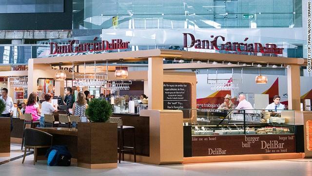 Nhà hàng Dani Garcia Delibar, Sân bay Malaga Costa Del Sol, Tây Ban Nha