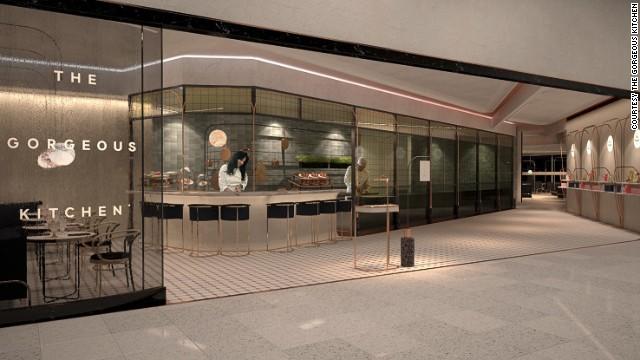 Nhà hàng Gorgeous, sân bay Heathrow, Luân Đôn