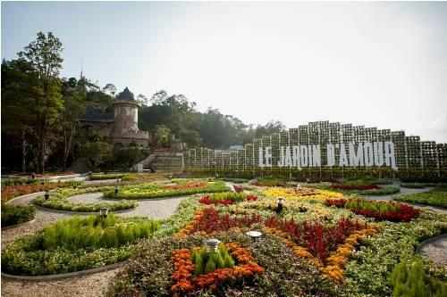 Lễ hội hoa Bà Nà Hills được tổ chức tại Le Jardin D'amour Bà Nà.