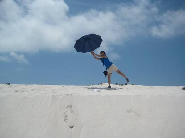 Bãi biển Quan Lạn đẹp hoang sơ