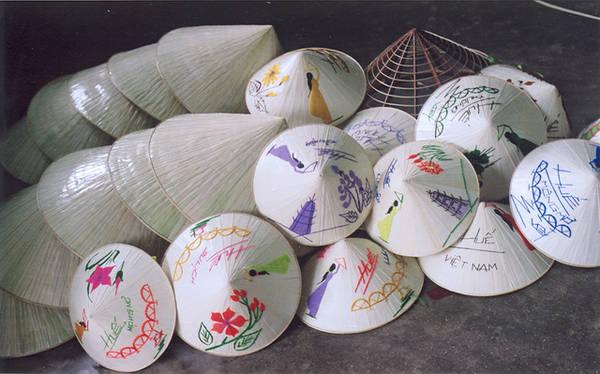 Image result for nón bài thơ